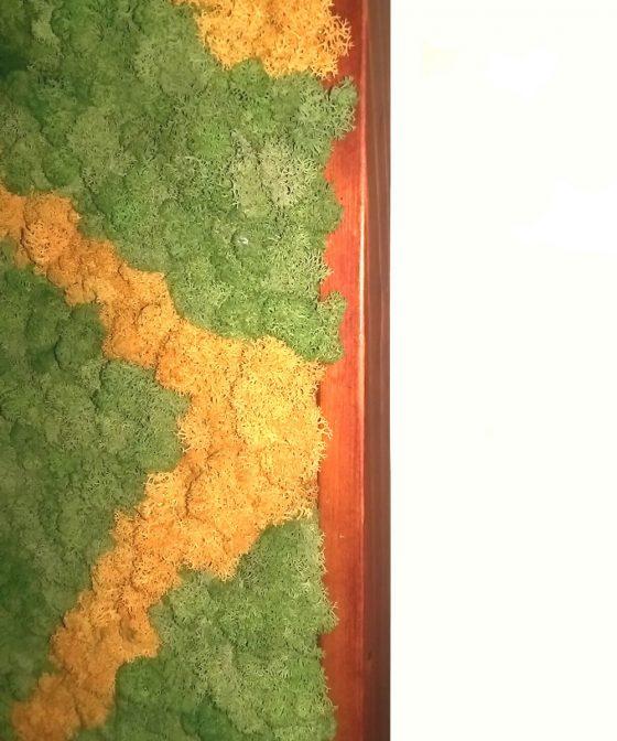 Panou decorativ licheni Roots